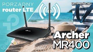 TP-Link Archer MR400 - Router 4G LTE. Unboxing, Test i Recenzja