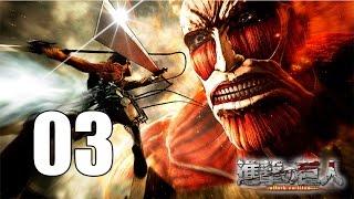 Attack on Titan - Gameplay Walkthrough Part 3: First Battle