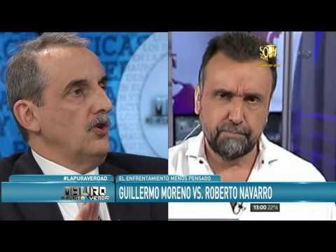 Guillermo Moreno con Mqauro por la pobreza