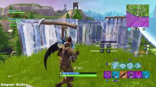 A win with the Baseball Squad in Fortnite