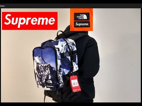 249299f80 SUPREME / The North Face Mountian Backpack Detailed Review from the Nov 30  17 drop