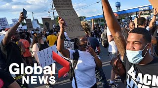 Protesters rally in Atlanta following shooting death of Rayshard Brooks