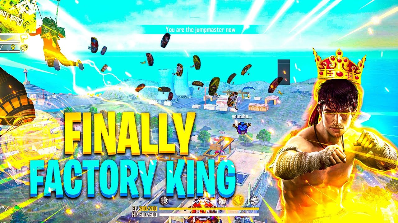 Factory King Finally Must Watch Only Factory Challenge - Garena Free Fire