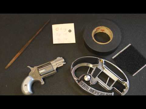 NAA North American Arms 22 LR Mini Revolver Belt Buckle Improvements