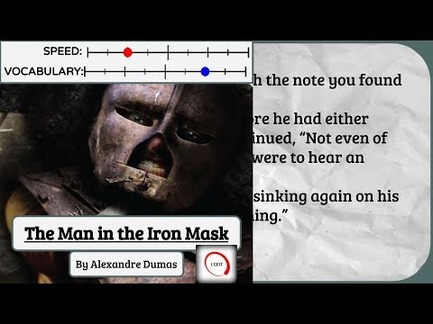 Learn English Through Story [Advanced]- The Man In The Iron Mask Part 1 [Subtitles, American Accent]