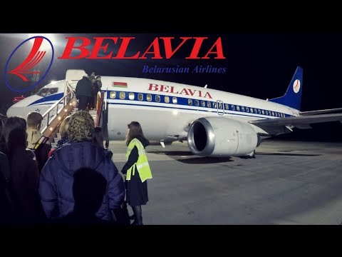 FLIGHT REPORT / BELAVIA 737-500 / MINSK - ST PETERSBURG