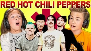 Baixar KIDS REACT TO RED HOT CHILI PEPPERS