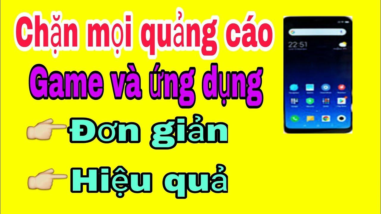 Chặn mọi quảng cáo game offline và ứng dụng trên Android #Topgaming#chanquangcao#thuthuathay