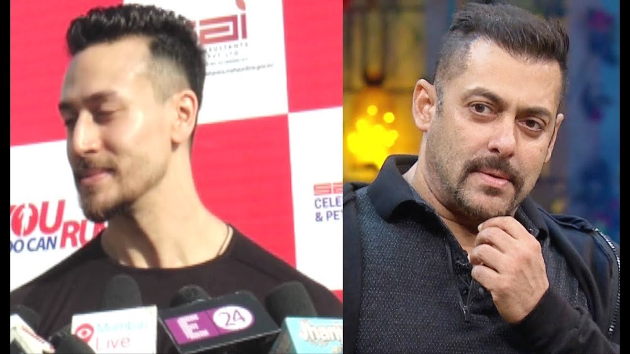 Tiger Shroff Copies Salman Khan Hairstyle In Baaghi 2 Youtube