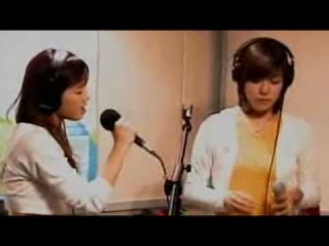 [20071005] SNSD Taeyeon and Tiffany - Because of You (Kelly Clarkson)