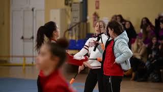 УТС в Испании Екатерины Пирожковой по художественной гимнастике