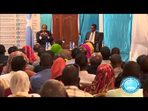 Special Forum for Ideas Mogadishu, Somalia Part 2