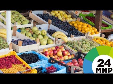 Продукты с грязных улиц: Ереван избавляется от нелегальных торговцев - МИР 24