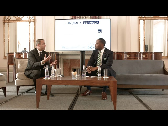 Bermuda Innovation Sprint: Premier the Hon. E. David Burt