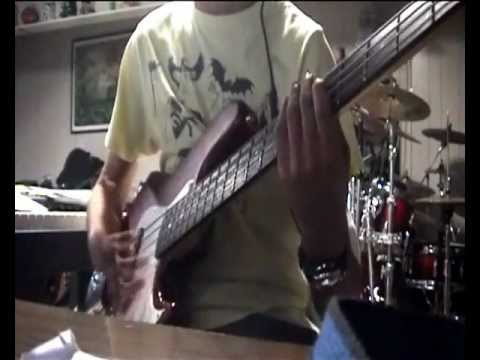 Hot Water - Level 42 (Bass Cover)