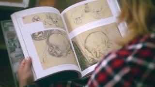 Буктрейлер книги Норштейна ''Снег на траве''