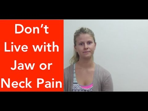 Chronic Jaw & Neck Pain Relieved After 1 ASTR Treatment!
