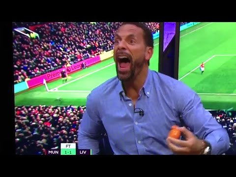 Rio Ferdinand's Insane Reaction To Ibrahimovic Equaliser vs Liverpool ► FUNNY