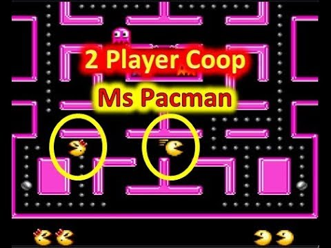 2 Player Coop Pacman Game (Ms Pacman Snes)