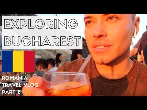 EXPLORING BUCHAREST + OLD TOWN TOUR | ROMANIA TRAVEL VLOG 2018 | PART 2