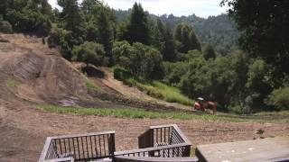Terracing transformation at Love Apple Farm