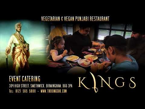 Kings. 100% Vegetarian / Vegan Restaurant. Birmingham UK. | www.thekingsuk.com