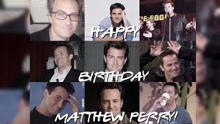 happy 47th birthday matthew perry! || out of my league