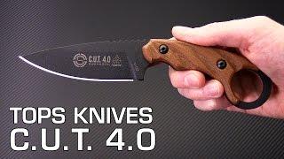 TOPS Knives C.U.T. 4.0 Fixed Blade Ring Knife Overview Mp3