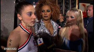 Spice Girls - MTV VMA interview (04/07/1997)