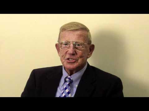 Lou Holtz talks about Jimmye Laycock