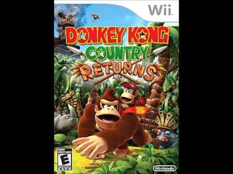 Donkey Kong Country Returns Music- Life In The Mines Returns