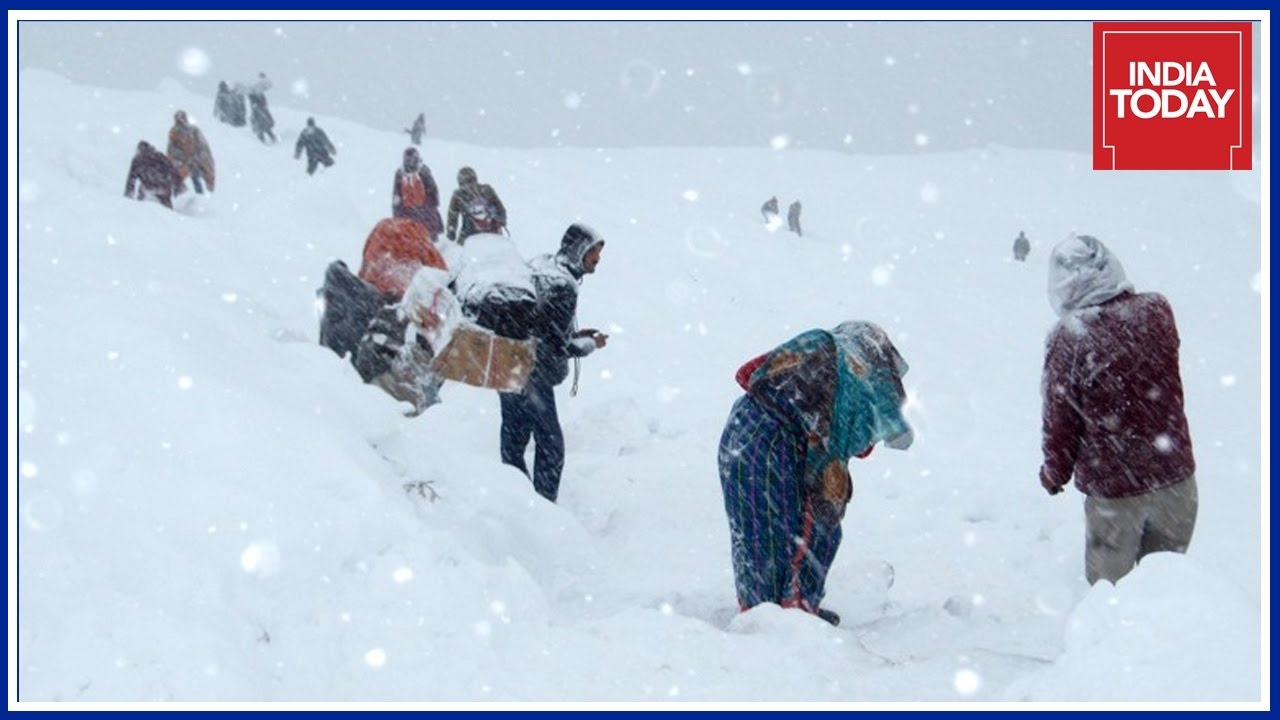 Cold Wave Grips North India : Ladakh Records Temperature Of Minus 17 Degrees