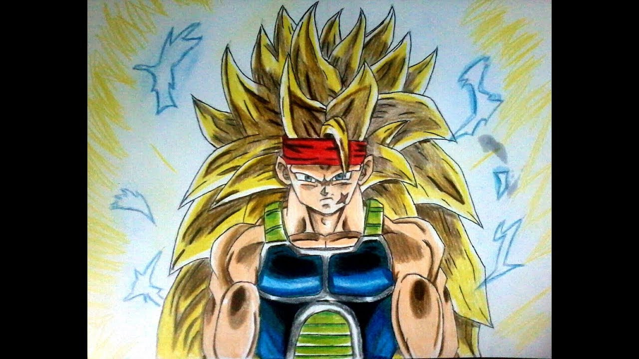 Como Dibujar A Bardock Ssj3 Dragon Ball Z How To Draw Bardock