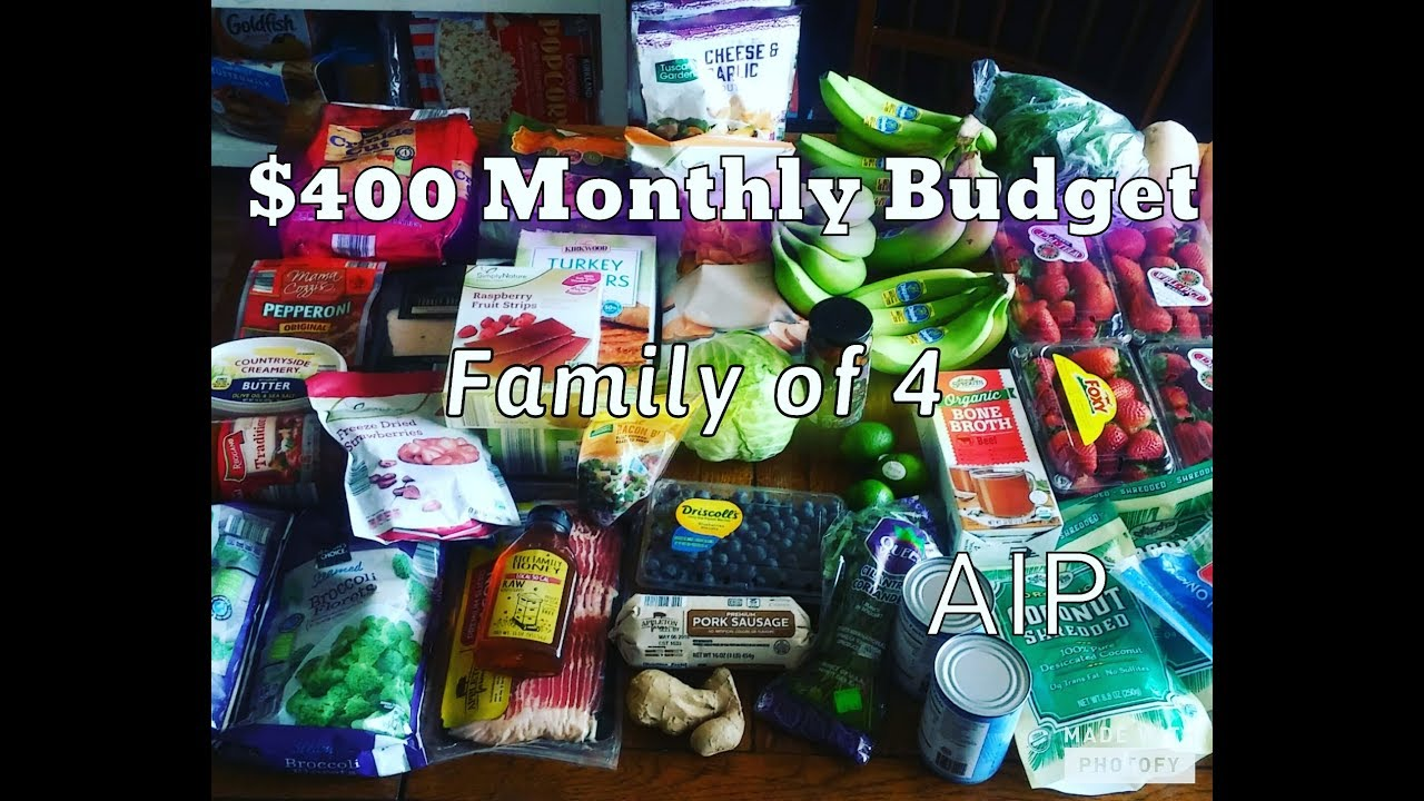 Aldi Grocery Haul- April 2018- MEAL PLAN/Prices/Recipes AIP