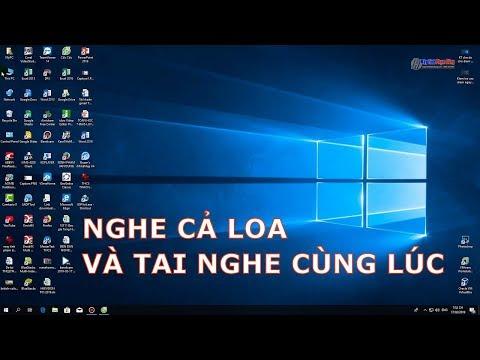 Hướng Dẫn Nghe Cả Loa Và Tai Nghe Trên Máy Tính - Business Computer