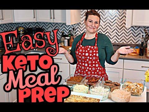 Keto Family Meal Prep / Sheet Pan Chicken & Asparagus /Sheet Pan Loaded Burgers/ Sloppy Joes & More