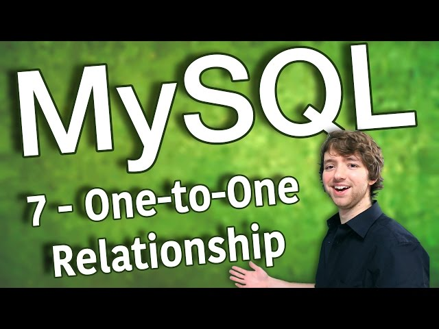 MySQL 7 - One-to-One Relationship
