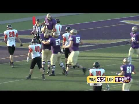 Live Sports Football vs Wartburg :30 sec clip