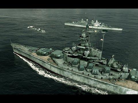 Одна из Лучших Игр про Корабли Второй Мировой Войны на ПК ! Военный Флот. Battlestations Pacific