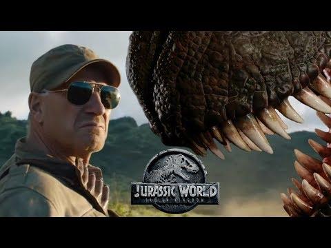 Meet The Dinosaur Trophy Hunter  Ted Levine's Ken Wheatley in Jurassic World: Fallen Kingdom