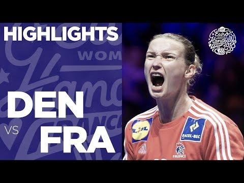 Denmark Vs France | Main Round | Highlights | Women's EHF EURO 2018