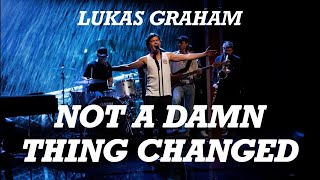 Lukas Graham - 'Not A Damn Thing Changed' LIVE - Natholdet