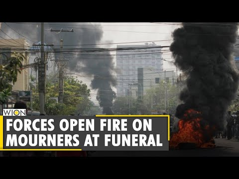 Myanmar: Security forces open fire on mourners at funeral