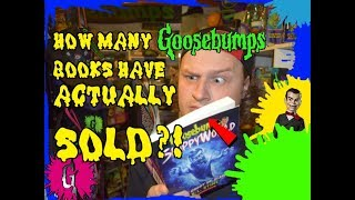 How Many Goosebumps Books Have Actually Sold?