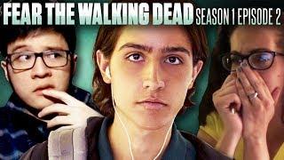 "Fans React To Fear the Walking Dead Season 1 Episode 2: ""So Close, Yet So Far"""