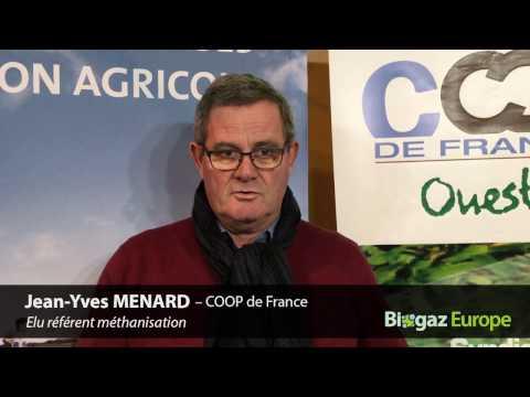 Jean-Yves MENARD, Coop de France - Biogaz Europe 2017