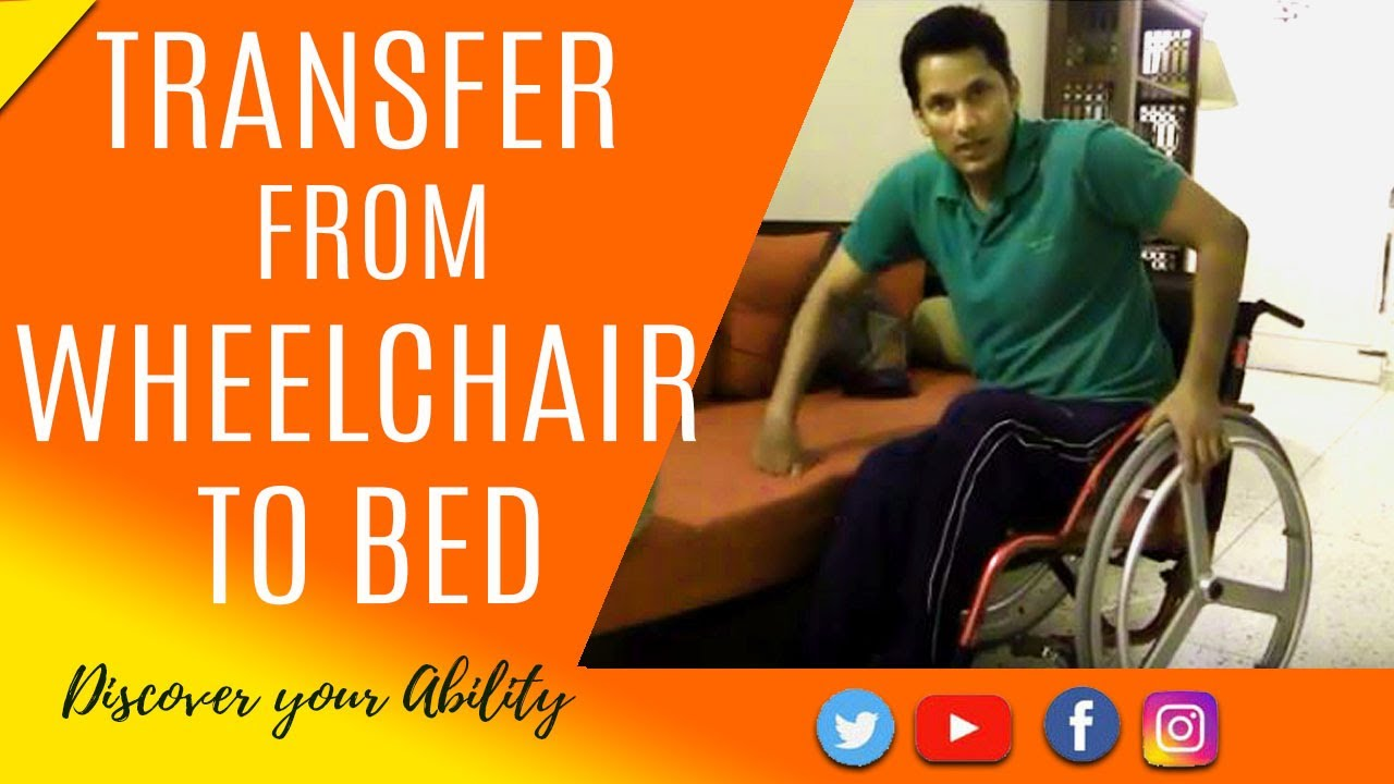 how quadriplegic c5,c6 transferring from wheelchair to bed
