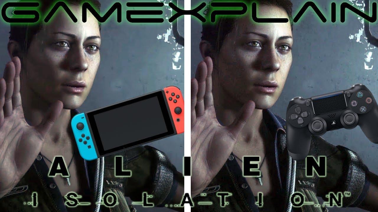 Συγκριτικό βίντεο του Alien: Isolation ανάμεσα στην Switch και PS4 έκδοση