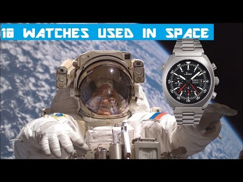 10 Watches Used In Space