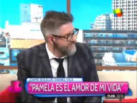 Daniel Vila y Pamela David se emocionaron al aire